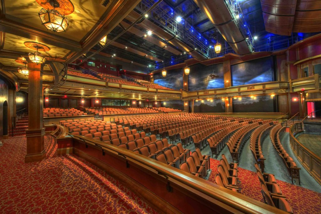 Roundabout Theatre view from the main stage